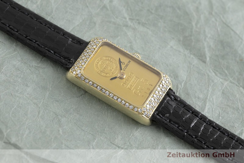 gebrauchte Luxusuhr Corum Goldbarren 18k Gold Handaufzug Kal. 846  | 2002172 _1