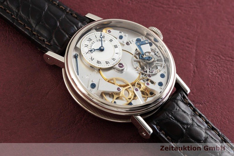 gebrauchte Luxusuhr Breguet Tradition 18k Weissgold Handaufzug Kal. 507DR Ref. 7027  | 2002178 _1