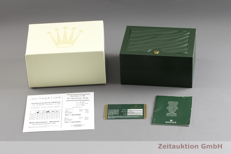 gebrauchte Luxusuhr Rolex Datejust Stahl / Gold Automatik Kal. 3135 Ref. 116231  | 2002179 _0