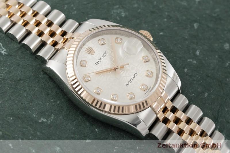 gebrauchte Luxusuhr Rolex Datejust Stahl / Gold Automatik Kal. 3135 Ref. 116231  | 2002179 _1
