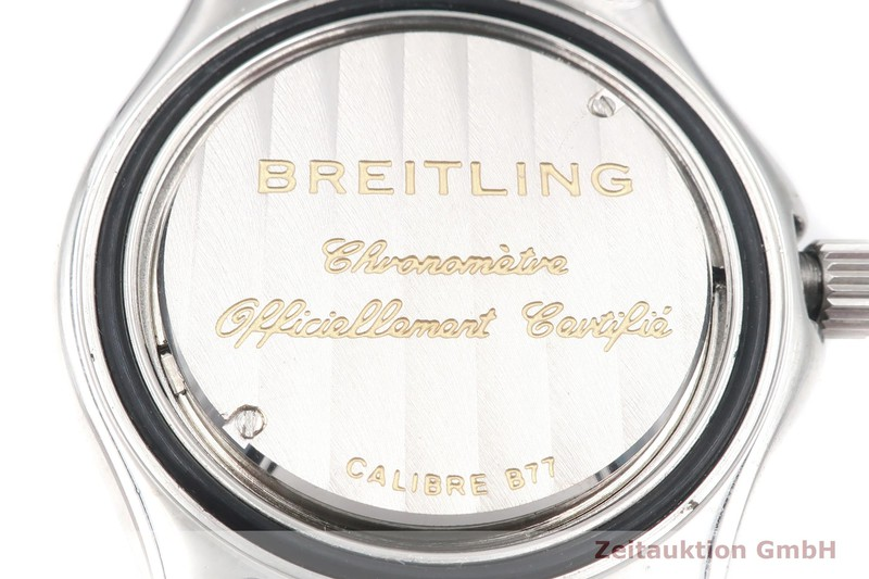 gebrauchte Luxusuhr Breitling Colt Ocean Stahl Quarz Kal. B77, ETA 955.452 Ref. A77350    2002185 _0