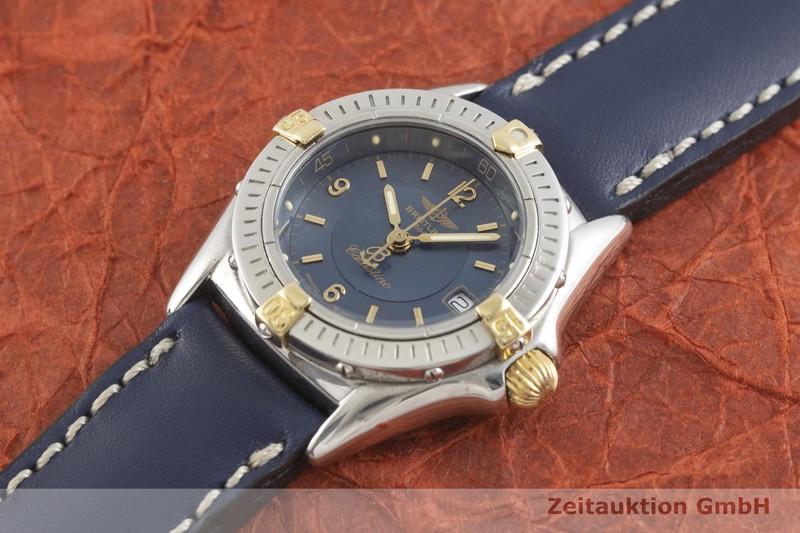 gebrauchte Luxusuhr Breitling Callistino Stahl / Gold Quarz Kal. B52, ETA 956.112 Ref. B52045.1  | 2002187 _0