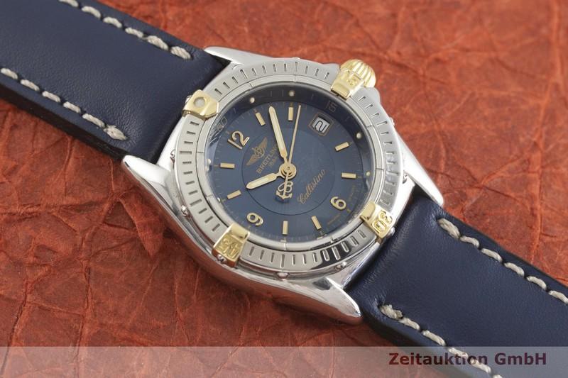 gebrauchte Luxusuhr Breitling Callistino Stahl / Gold Quarz Kal. B52, ETA 956.112 Ref. B52045.1  | 2002187 _1