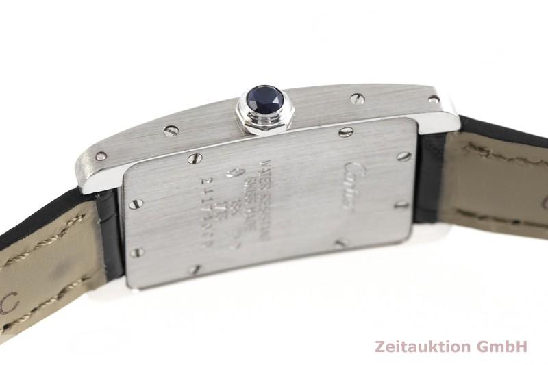 gebrauchte Luxusuhr Cartier Tank Américaine 18k Weissgold Quarz Kal. 157 Ref. 1713  | 2002189 _0