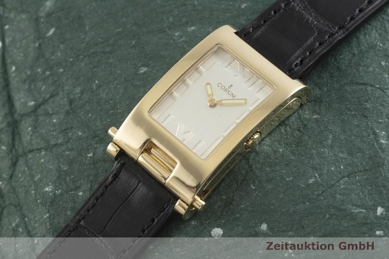 gebrauchte Luxusuhr Corum Tabogan 18k Gold Handaufzug Kal. 810 Ref. 56.151.56  | 2002191 _0