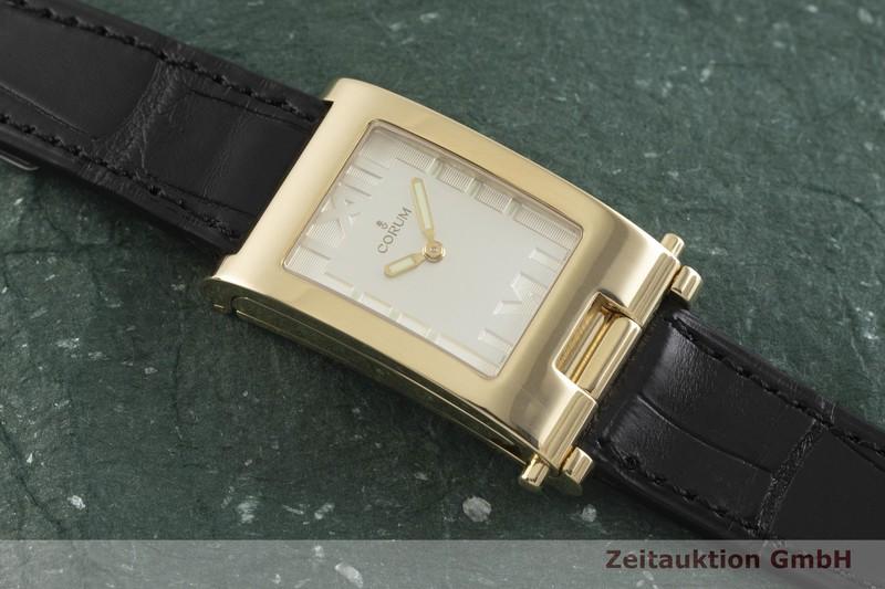 gebrauchte Luxusuhr Corum Tabogan 18k Gold Handaufzug Kal. 810 Ref. 56.151.56  | 2002191 _1