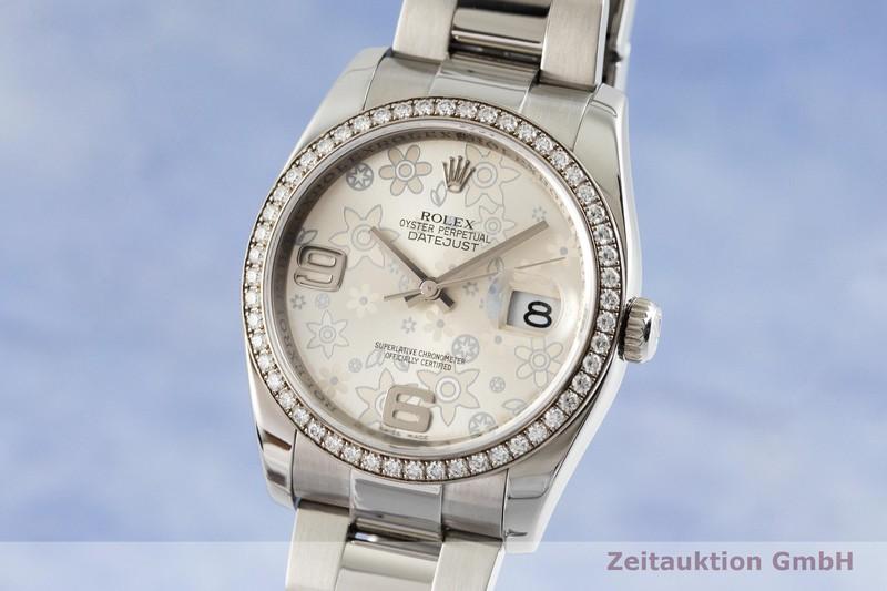 gebrauchte Luxusuhr Rolex Datejust Stahl / Weissgold Automatik Kal. 3135 Ref. 116244  | 2002194 _0