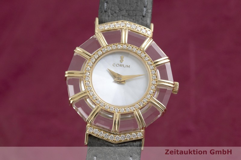 gebrauchte Luxusuhr Corum Limelight 18k Gold Quarz Kal. ETA 976.001 Ref. 24.786.65  | 2002200 _0