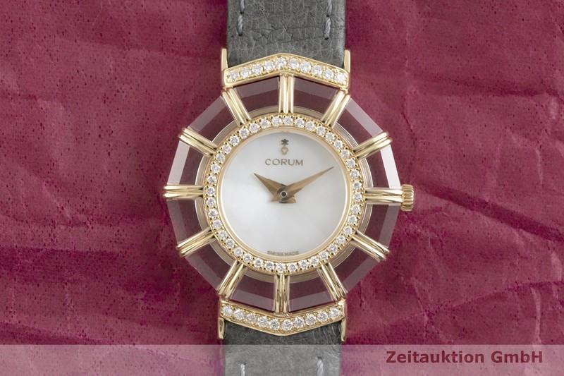 gebrauchte Luxusuhr Corum Limelight 18k Gold Quarz Kal. ETA 976.001 Ref. 24.786.65  | 2002200 _1