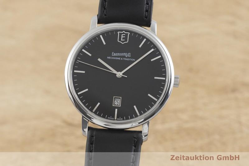 gebrauchte Luxusuhr Eberhard & Co Aliante Stahl Handaufzug Kal. ETA 2804-2 Ref. 21021  | 2002211 _0