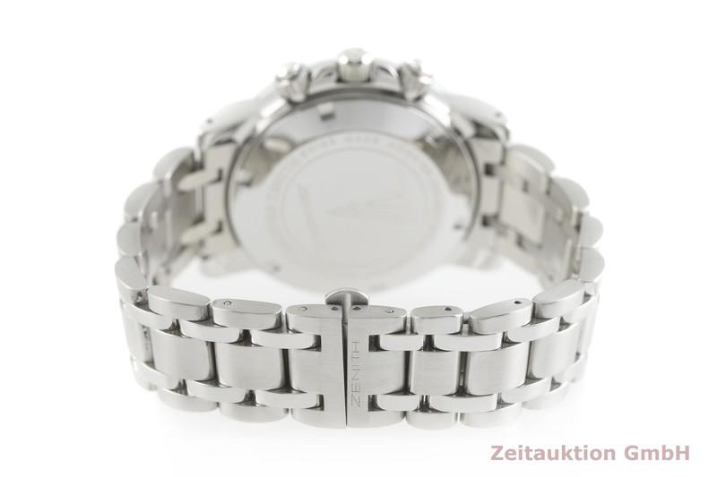 gebrauchte Luxusuhr Zenith El Primero Chronograph Stahl Automatik Kal. 4002 Ref. 01/02.0461.400  | 2002213 _1