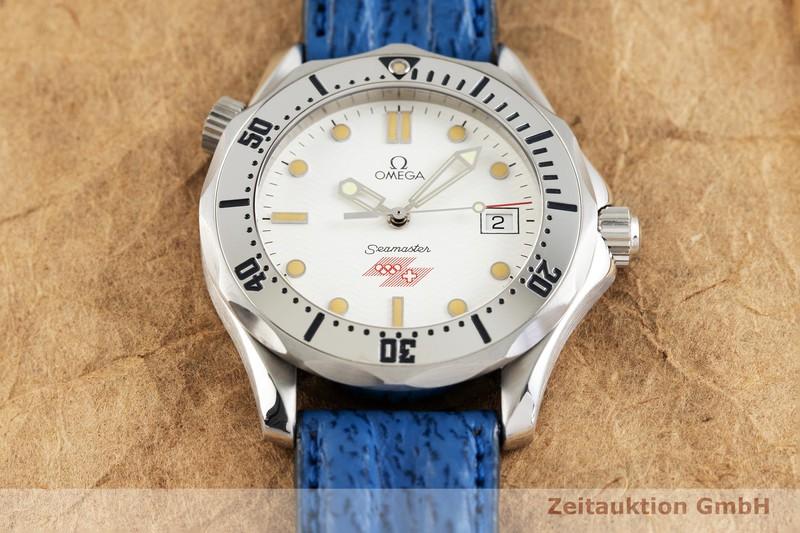 gebrauchte Luxusuhr Omega Seamaster Stahl Quarz Kal. 1438, ETA 255.641 Ref. 196.1502, 396.1502    2002215 _1