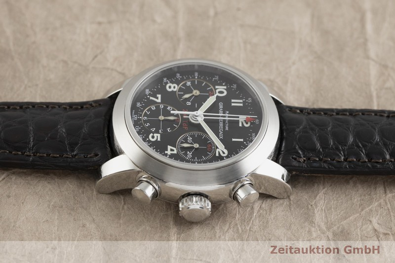 gebrauchte Luxusuhr Girard Perregaux Ferrari Chronograph Stahl Automatik Kal. 2280U-781 Ref. 8090 LIMITED EDITION | 2002220 _0