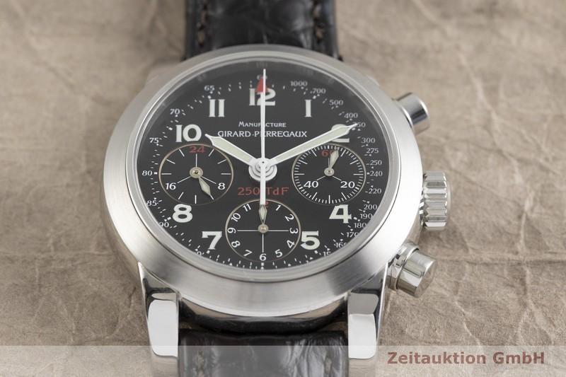 gebrauchte Luxusuhr Girard Perregaux Ferrari Chronograph Stahl Automatik Kal. 2280U-781 Ref. 8090 LIMITED EDITION | 2002220 _1