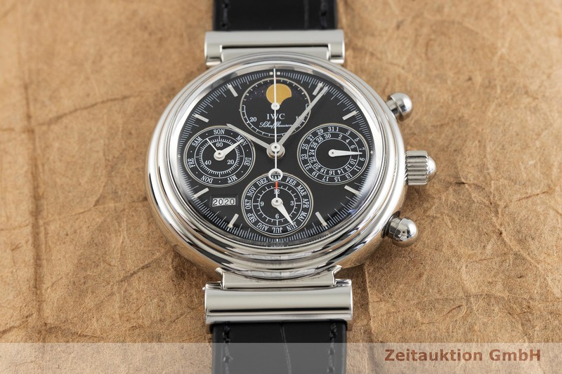 gebrauchte Luxusuhr IWC Da Vinci Chronograph Stahl Automatik Kal. C.79261 Ref. 3750  | 2002225 _1