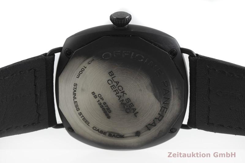 gebrauchte Luxusuhr Panerai Black Seal Keramik Handaufzug Kal. ETA B99.501 Ref. OP6723, PAM00292    2002230 _0