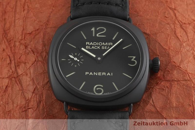 gebrauchte Luxusuhr Panerai Black Seal Keramik Handaufzug Kal. ETA B99.501 Ref. OP6723, PAM00292    2002230 _1