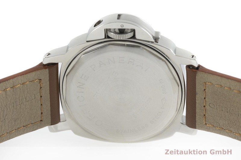 gebrauchte Luxusuhr Panerai Luminor Marina Stahl Handaufzug Kal. ETA 6497-2 Ref. OP6318 LIMITED EDITION | 2002231 _0