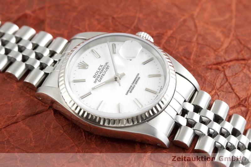 gebrauchte Luxusuhr Rolex Datejust Stahl / Weissgold Automatik Kal. 3135 Ref. 16234    2002234 _1