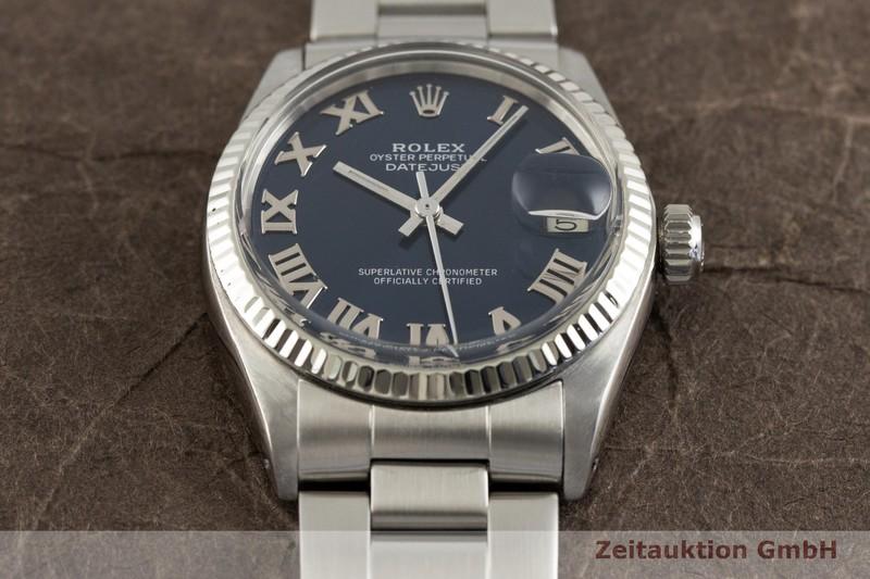 gebrauchte Luxusuhr Rolex Datejust Stahl / Weissgold Automatik Kal. 2030 Ref. 6827    2002235 _1