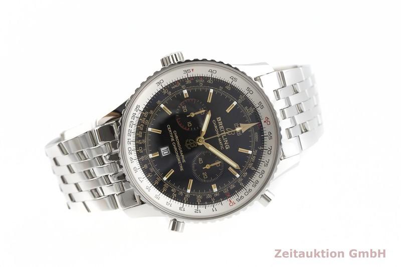 gebrauchte Luxusuhr Breitling Chrono-Matic Chronograph Stahl Automatik Kal. B41, ETA 2892A2 Ref. A41350 LIMITED EDITION   2002237 _0