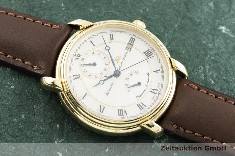 gebrauchte Luxusuhr Maurice Lacroix Reserve De Marche 18k Gold Automatik Kal. ETA 2892-2 Ref. 91512-7101 LIMITED EDITION | 2002259 _1