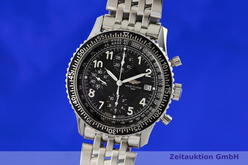gebrauchte Luxusuhr Breitling Aviastar Chronograph Stahl Automatik Kal. B13, ETA 7750 Ref. A13024  | 2002266 _0