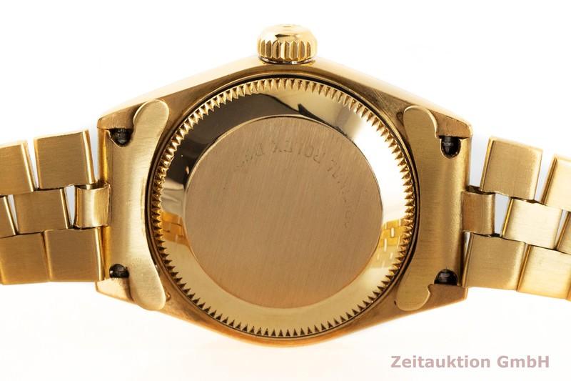 gebrauchte Luxusuhr Rolex Lady Datejust 18k Gold Automatik Kal. 2135 Ref. 69178    2002269 _0