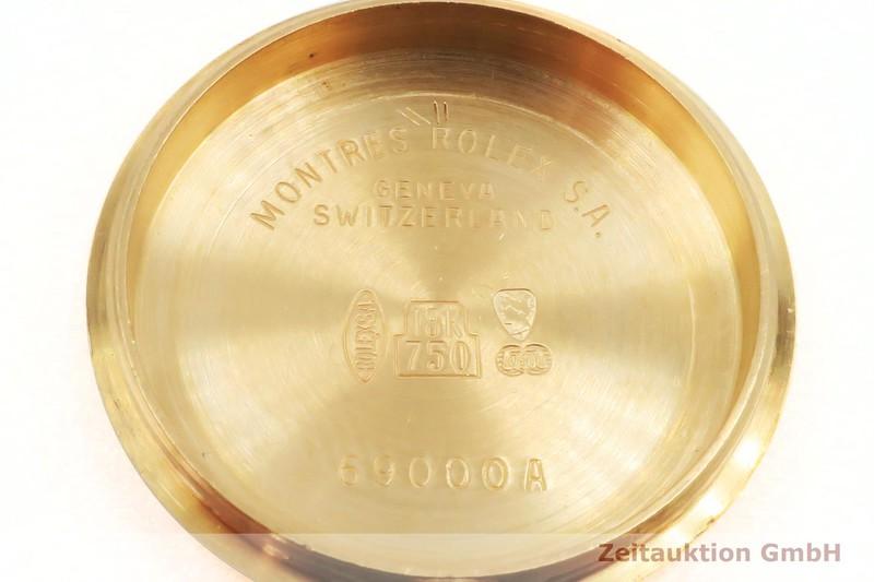 gebrauchte Luxusuhr Rolex Lady Datejust 18k Gold Automatik Kal. 2135 Ref. 69178    2002269 _1