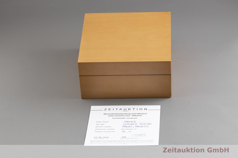 gebrauchte Luxusuhr Panerai Luminor Marina Stahl Handaufzug Kal. ETA B99501 Ref. OP6567, PAM00113 LIMITED EDITION | 2002284 _0
