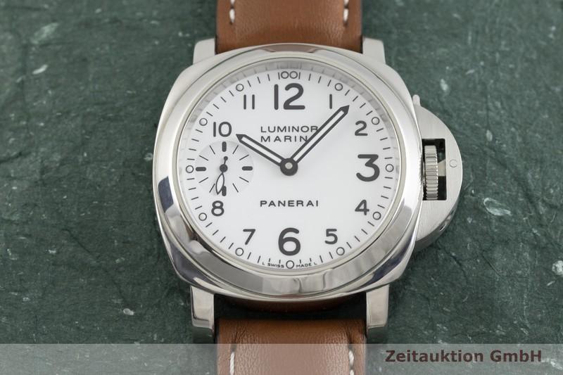 gebrauchte Luxusuhr Panerai Luminor Marina Stahl Handaufzug Kal. ETA B99501 Ref. OP6567, PAM00113 LIMITED EDITION | 2002284 _1