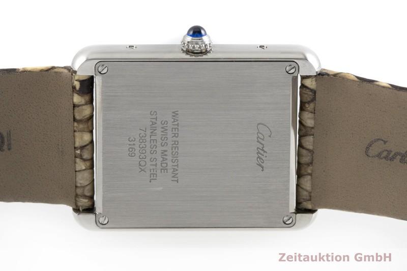 gebrauchte Luxusuhr Cartier Tank Stahl Quarz Kal. 690 Ref. 3169  | 2002293 _0
