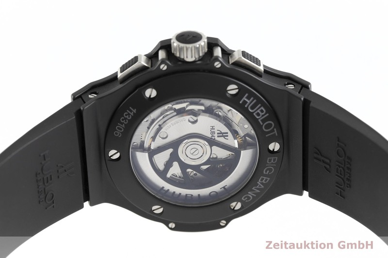 gebrauchte Luxusuhr Hublot Big Bang Chronograph Keramik / Titan Automatik Kal. HUB 4200, 4214 Ref. 311.C1.1170.GR  | 2002306 _0
