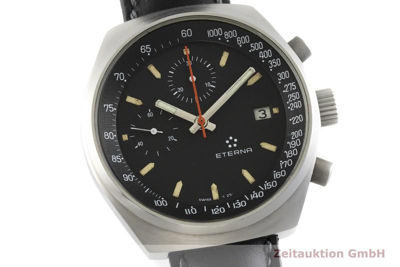 gebrauchte Luxusuhr Eterna * Chronograph Stahl Handaufzug Kal. Valjoux 7765 Ref. 7800    2002308 _0