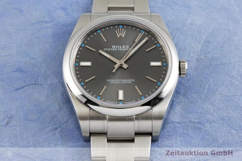 gebrauchte Luxusuhr Rolex Oyster Perpetual Stahl Automatik Kal. 3132 Ref. 114300  | 2002318 _1