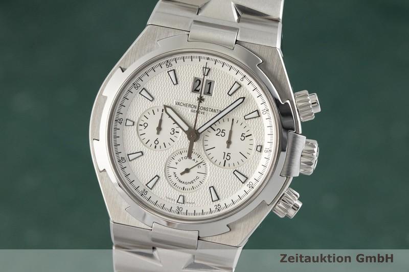 gebrauchte Luxusuhr Vacheron & Constantin Overseas Chronograph Stahl Automatik Kal. 1137 Ref. 49150  | 2002320 _0