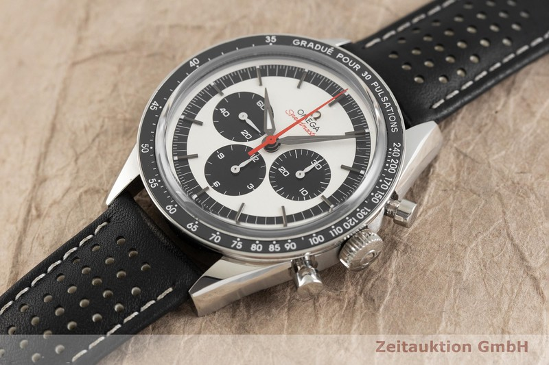 gebrauchte Luxusuhr Omega Speedmaster Chronograph Stahl Handaufzug Kal. 1861 Ref. 31132403002001 LIMITED EDITION | 2002322 _0
