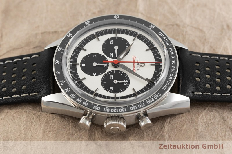 gebrauchte Luxusuhr Omega Speedmaster Chronograph Stahl Handaufzug Kal. 1861 Ref. 31132403002001 LIMITED EDITION   2002322 _0