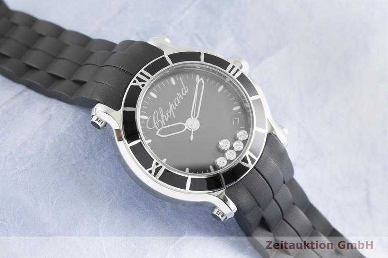 gebrauchte Luxusuhr Chopard Happy Sport Stahl Quarz Kal. ETA 955.112 Ref. 278551-3002  | 2002329 _1