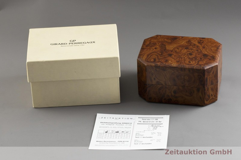 gebrauchte Luxusuhr Girard Perregaux Laureato Chronograph Stahl Automatik Kal. 3170-629 Ref. 8017  | 2002336 _0