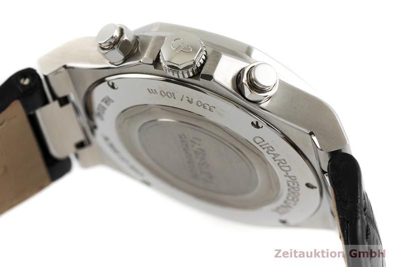 gebrauchte Luxusuhr Girard Perregaux Laureato Chronograph Stahl Automatik Ref. 81040-11-631-BB6A  | 2002338 _0