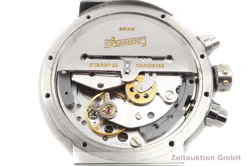 gebrauchte Luxusuhr Eberhard & Co Chronomaster Frecce Tricolori Chronograph Stahl vergoldet Automatik Kal. LWO 5100 Ref. 32120  | 2002341 _0
