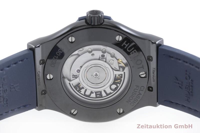 gebrauchte Luxusuhr Hublot Classic Fusion Keramik / Titan Automatik Kal. HUB 11, Sellita SW300-2 Ref. 542.CM.7170.LR  | 2002344 _0