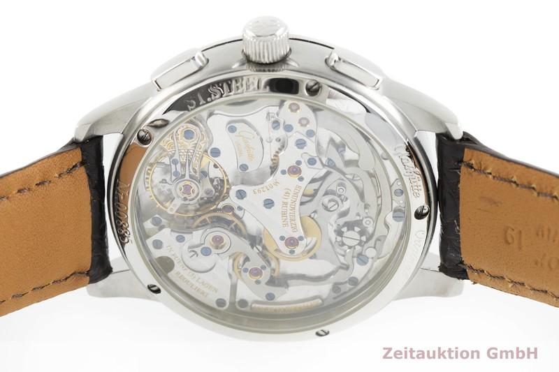 gebrauchte Luxusuhr Glashütte PanoGraph Chronograph Stahl Handaufzug Kal. GUB 61 Ref. 61-01-14-02-04  | 2002345 _0