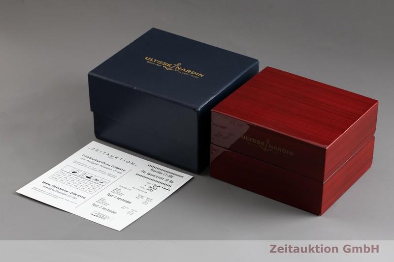 gebrauchte Luxusuhr Ulysse Nardin Blue Seal Chronograph Stahl Automatik Kal. ETA 2892-A2 Ref. 353-68 LIMITED EDITION | 2002352 _0