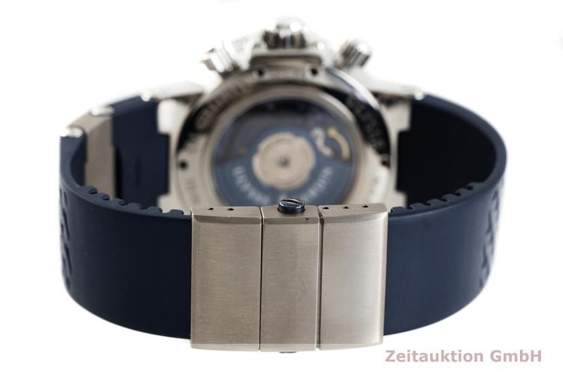 gebrauchte Luxusuhr Ulysse Nardin Blue Seal Chronograph Stahl Automatik Kal. ETA 2892-A2 Ref. 353-68 LIMITED EDITION | 2002352 _1