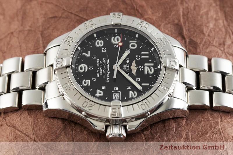 gebrauchte Luxusuhr Breitling Superocean Stahl Automatik Kal. B17, ETA 2824-2 Ref. A17360  | 2002356 _0