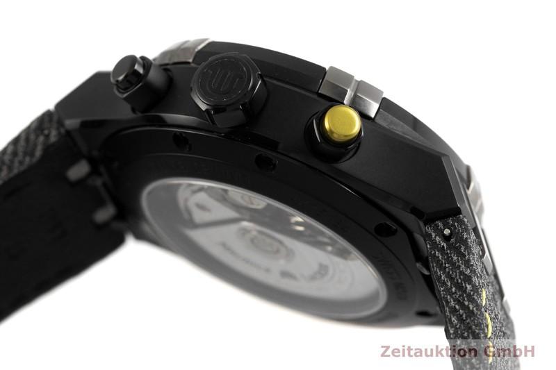 gebrauchte Luxusuhr Maurice Lacroix Aikon Chronograph Stahl Automatik Kal. ML 157, ETA 7750 Ref. AI6018-PVB01-331-1 LIMITED EDITION | 2002357 _0