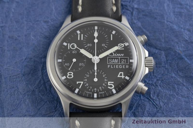 gebrauchte Luxusuhr Sinn 356 Chronograph Stahl Automatik Kal. ETA 7750 Ref. 356  | 2002361 _1
