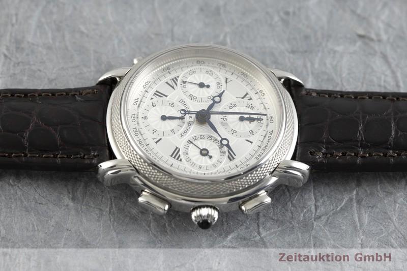 gebrauchte Luxusuhr Maurice Lacroix Masterpiece Chronograph Stahl Automatik Ref. 61570 LIMITED EDITION | 2002362 _0